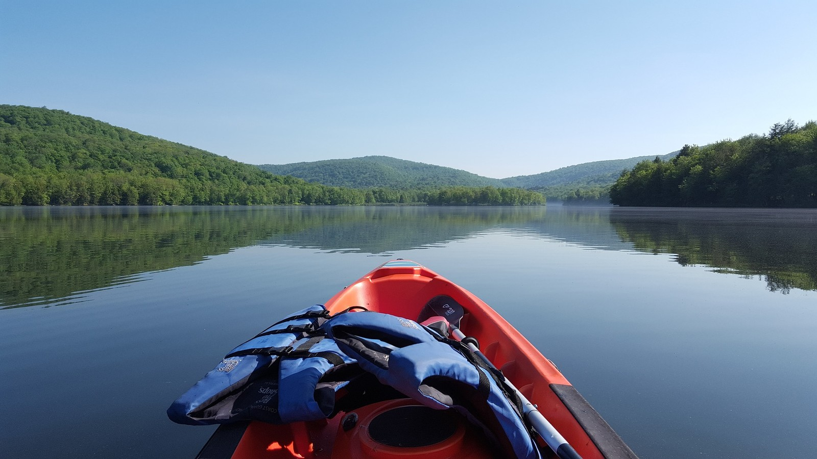 Kayaking in the Catskills