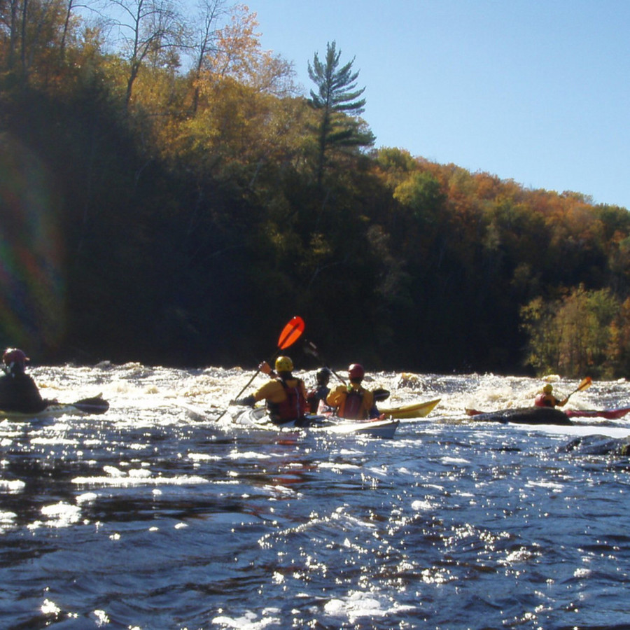 Whitewater rafting on the Esopus Creek in the Catskills