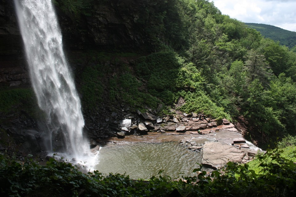 Kaaterskill Falls in the Catskills