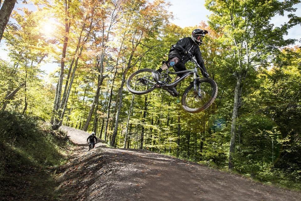 mountain biking in the Catskills