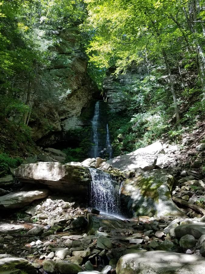 Buttermilk Falls - a Catskills waterfall