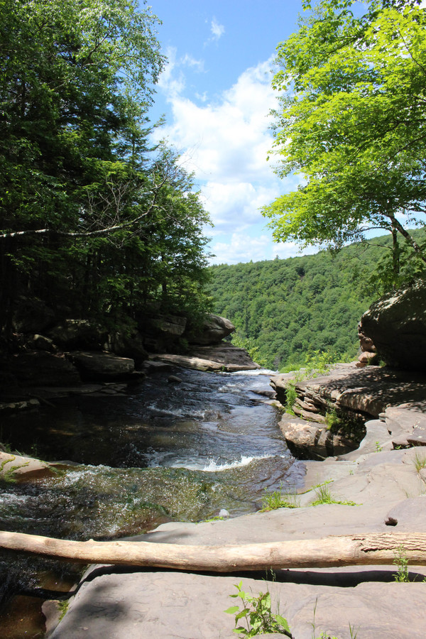 Catskills waterfall