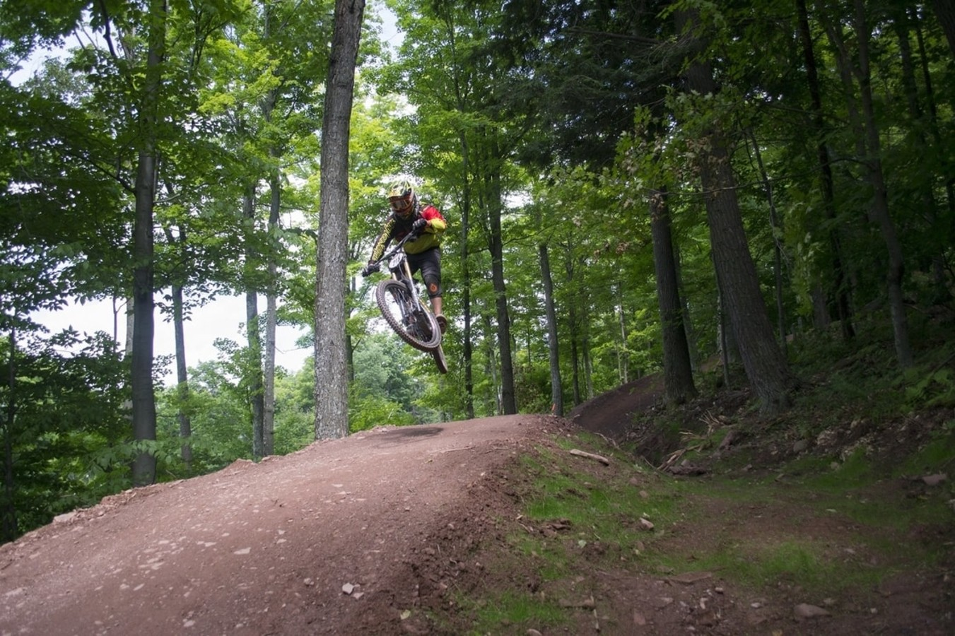 Windham Mountain mountain biker
