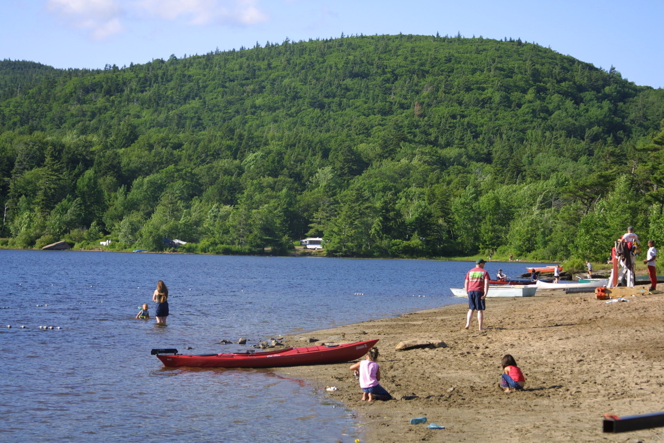 North-South Lake State Campground in the Great Northern Catskills