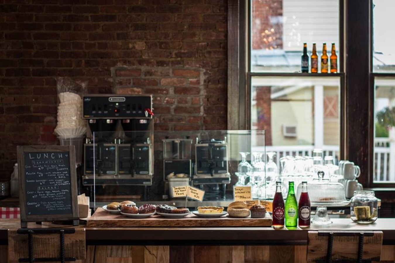 Counter with pastries at Windham Local Public House